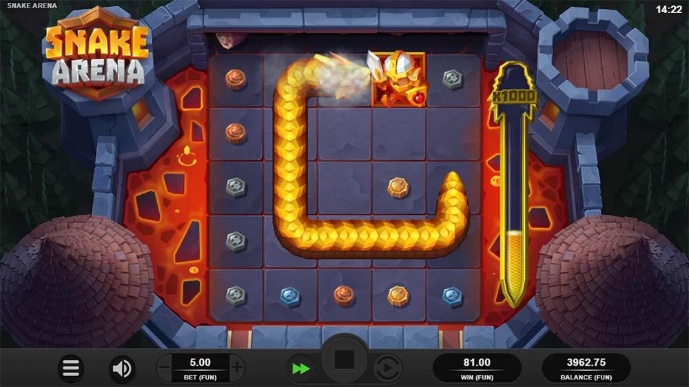 Snake Arena Slot - Snake Wild