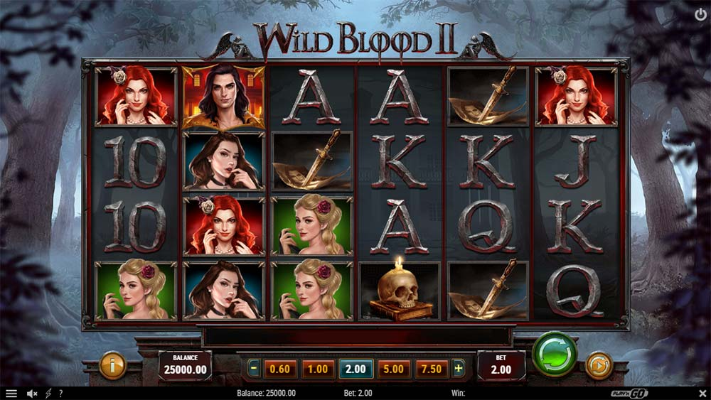 Wild Blood II Slot - Base Game