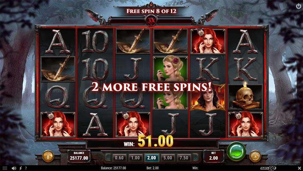 Wild Blood II Slot - Extra Free Spins