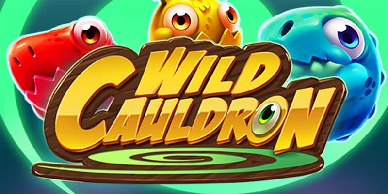 Wild Cauldron Slot Logo