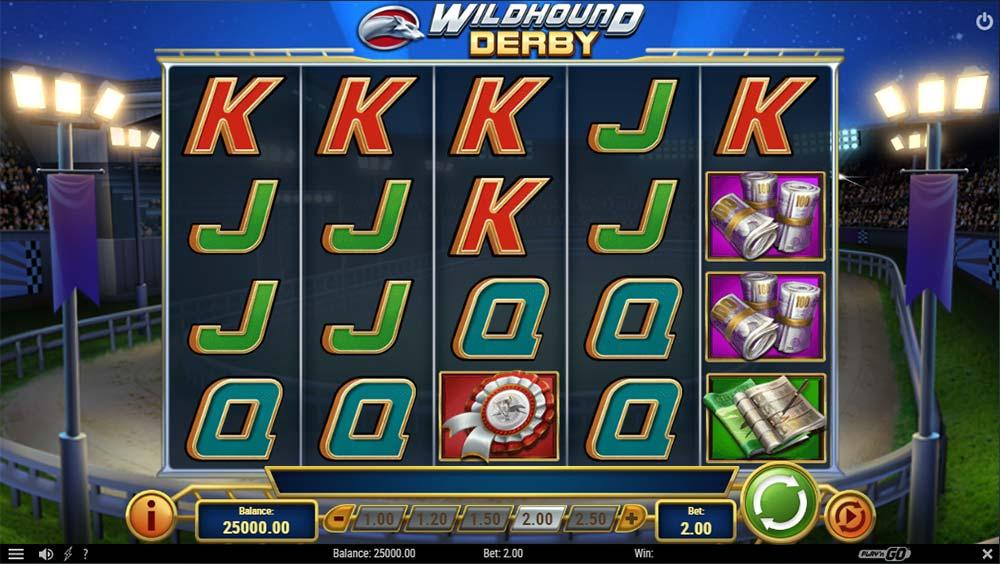 Wildhound Derby Slot -Base Game