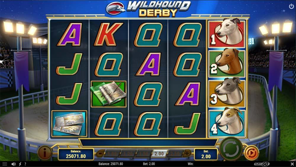 Wildhound Derby Slot -Bonus Triggered