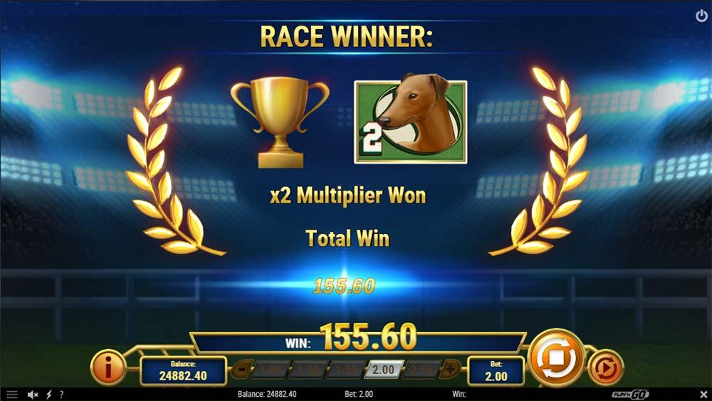 Wildhound Derby Slot - Bonus End