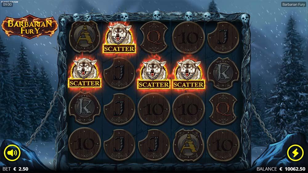 Barbarian Fury Slot - Bonus Scatter