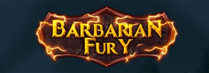 Barbarian Fury Slot Logo