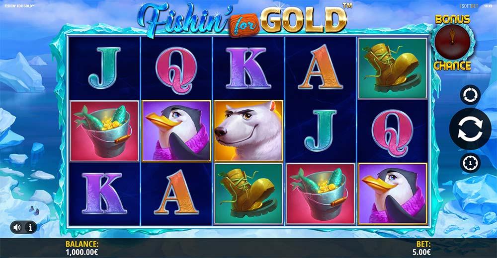 Fishin for Gold Slot - Base Game