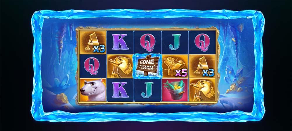 Fishin for Gold Slot - Multiplier Wilds