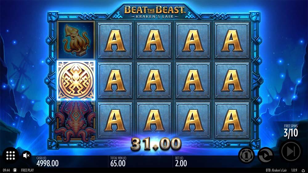 Kraken's Lair Slot - Expanding Symbols