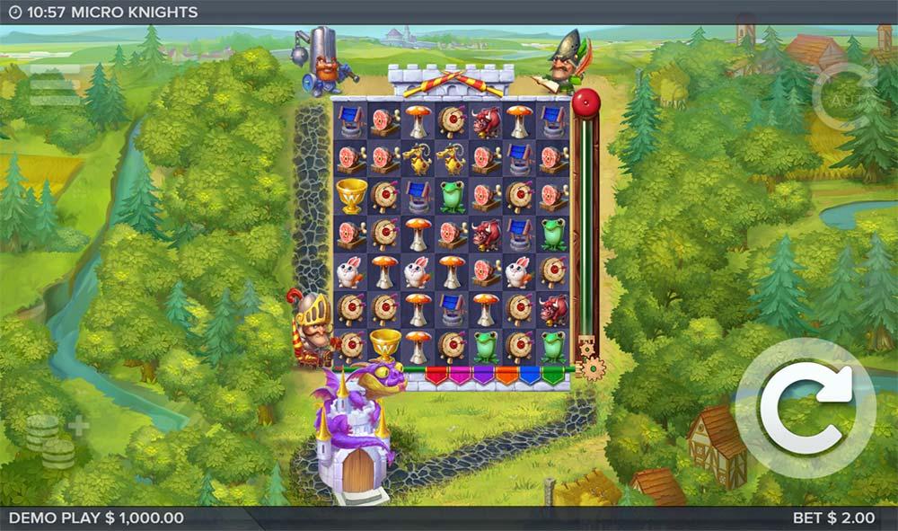 Micro Knights Slot - Base Game