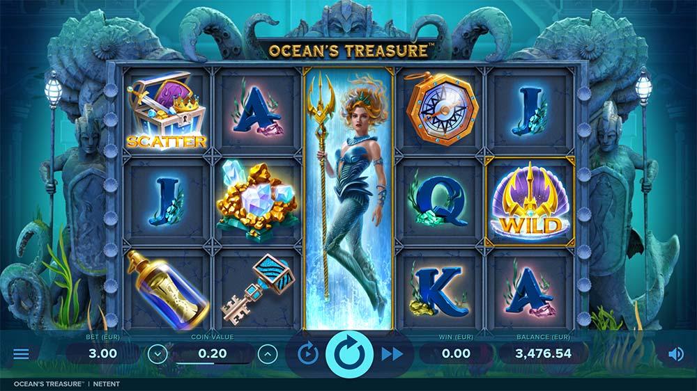 Ocean's Treasure Slot - Base Game