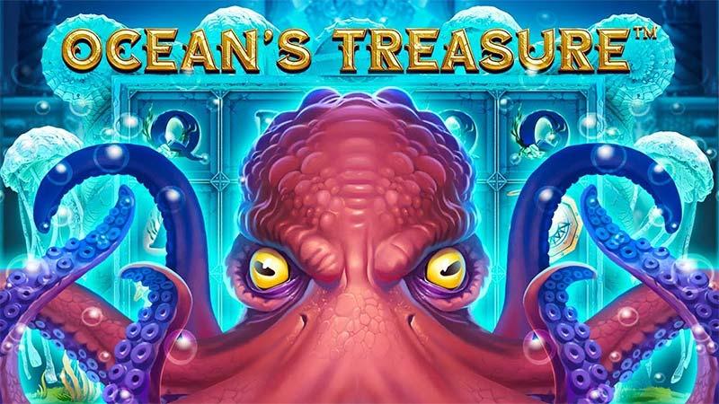 Ocean's Treasure Slot Logo