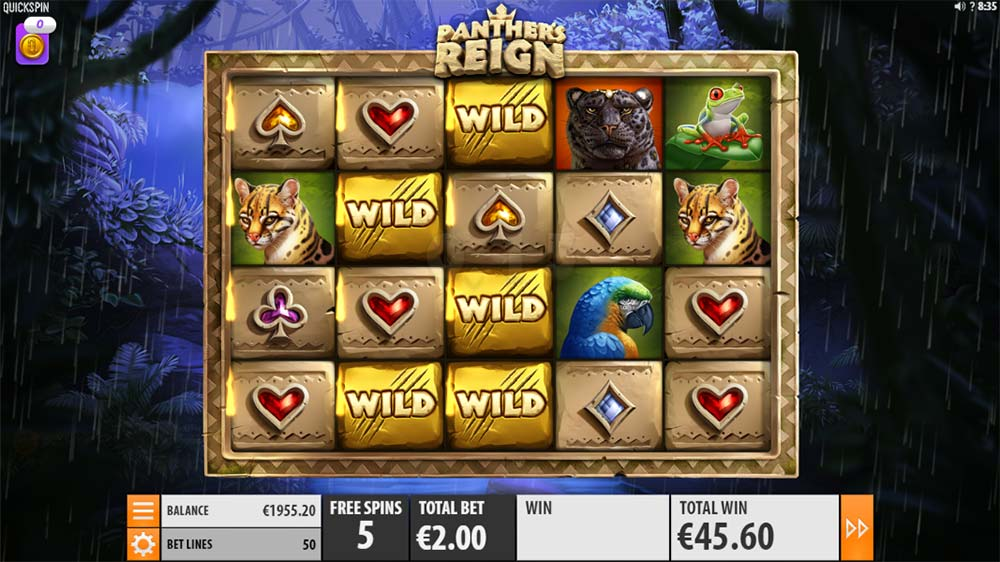 Panther's Reign Slot - Free Spins
