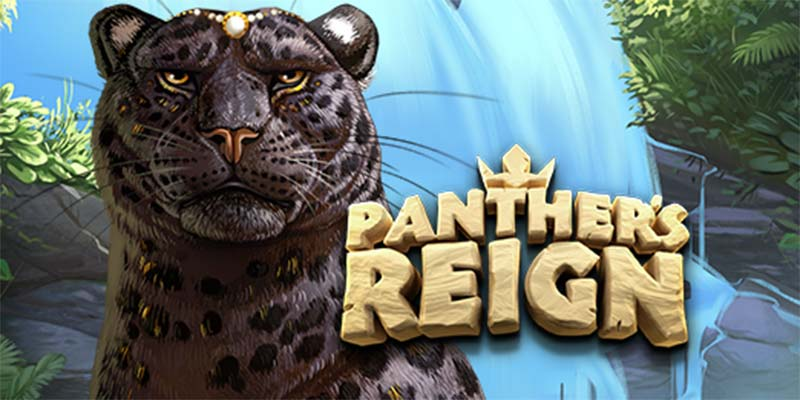 Panther's Reign Slot Logo