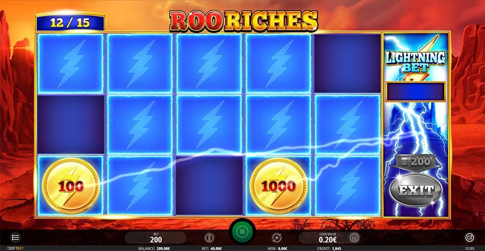 Roo Riches Slot - Lightning Bet
