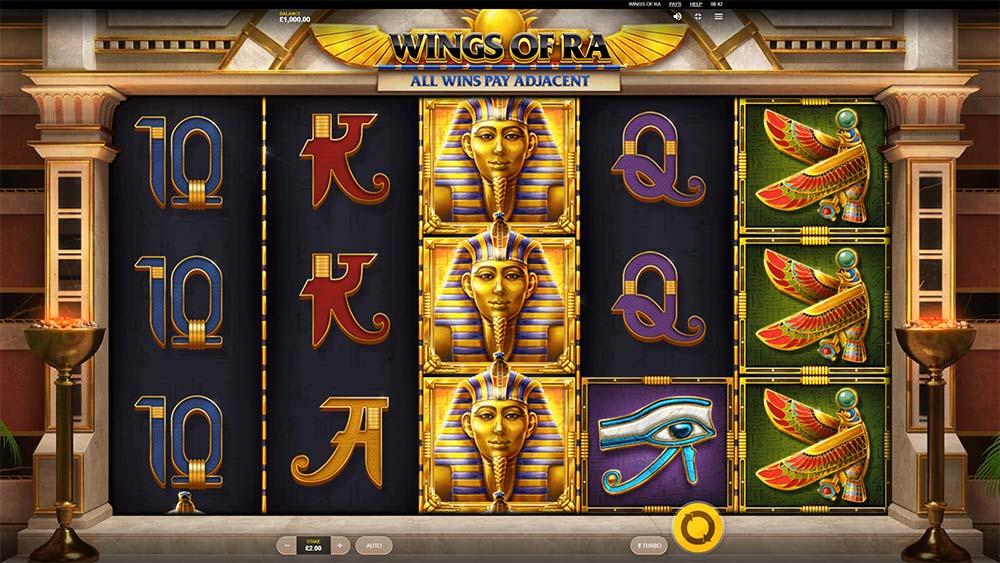 Wings of Ra Slot - Base Game