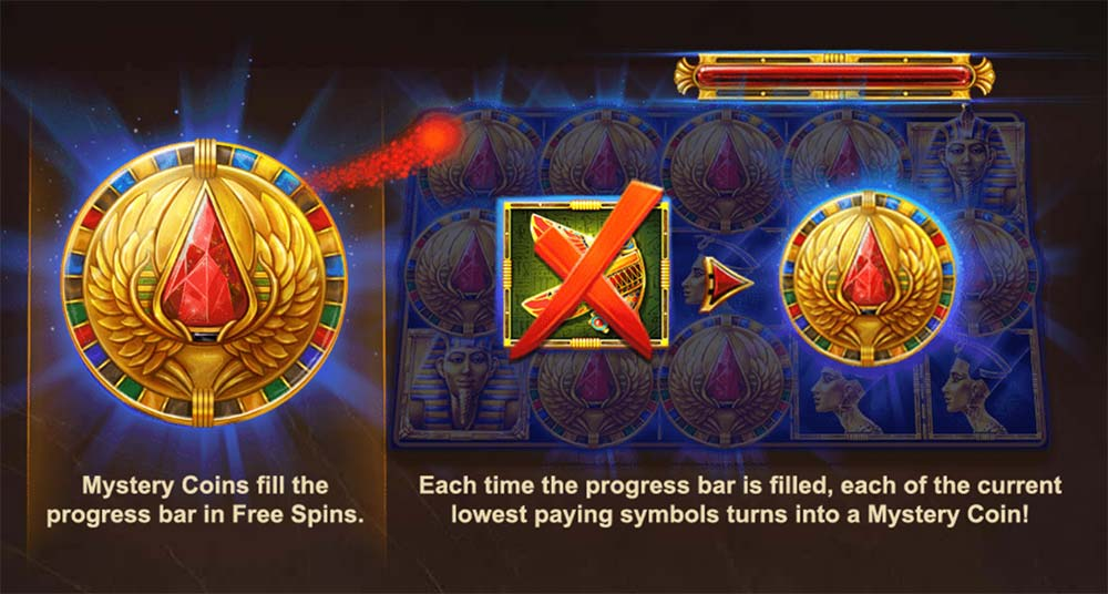 Wings of Ra Slot - Symbol Upgrade
