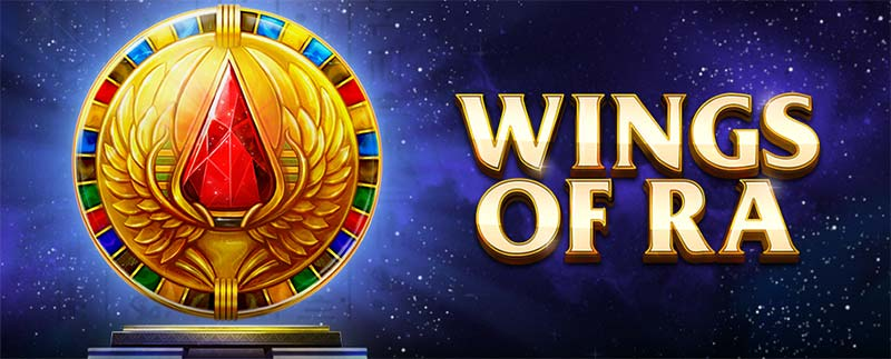 Wings of Ra Slot Logo