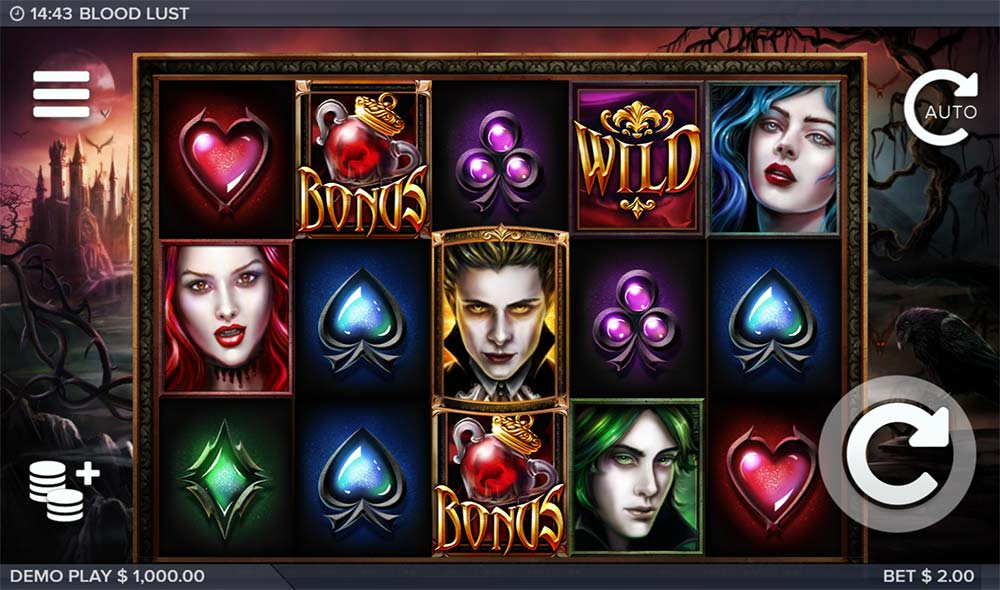 Blood Lust Slot - Base Game