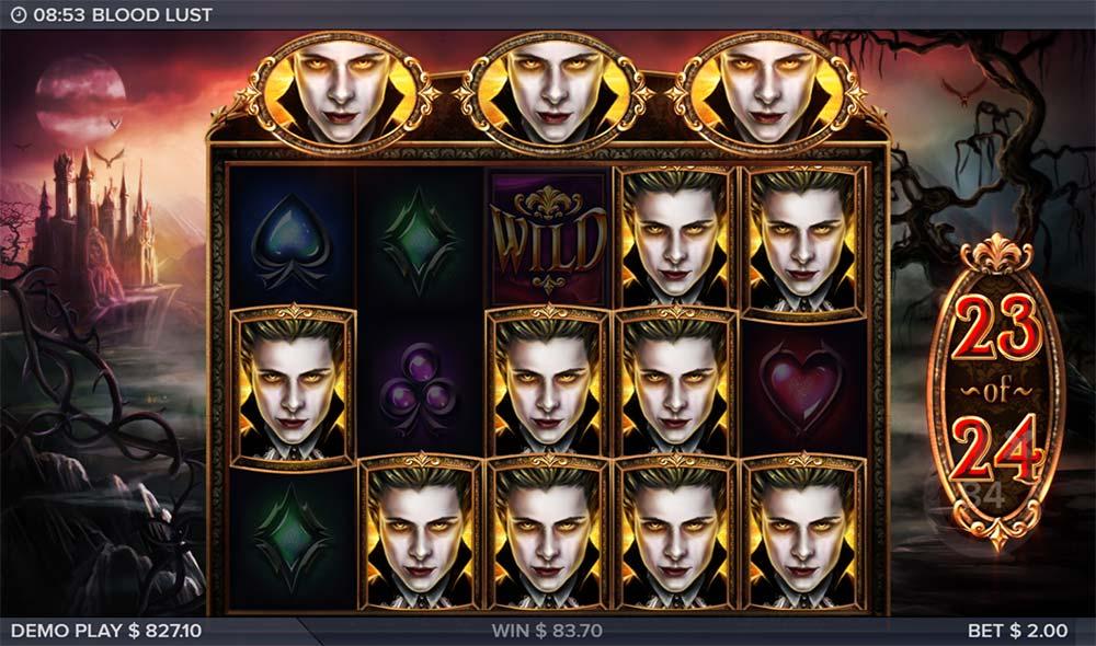 Blood Lust Slot - Free Spins