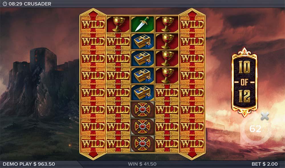 Crusader Slot - Stacked Wilds