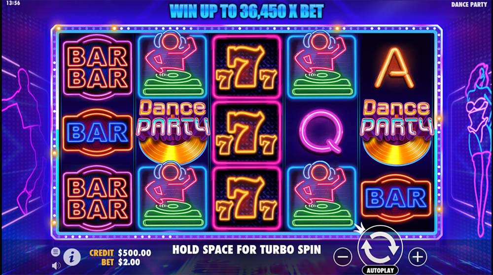 Dance Party Slot - Base Game