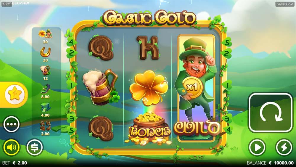 Gaelic Gold Slot - Base Game