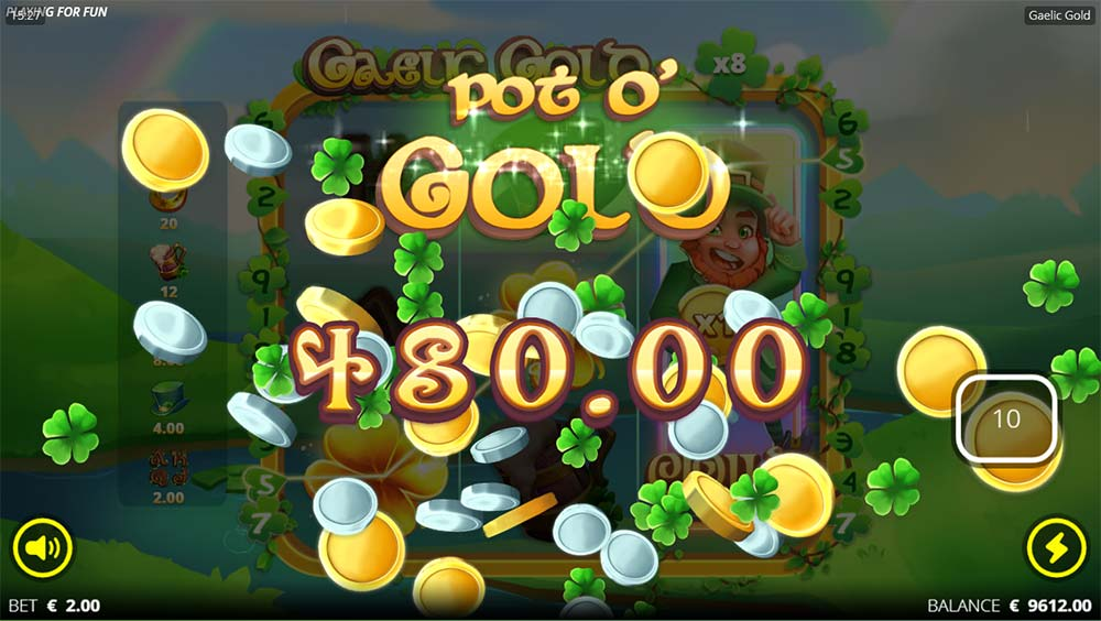 Gaelic Gold Slot - Big Win