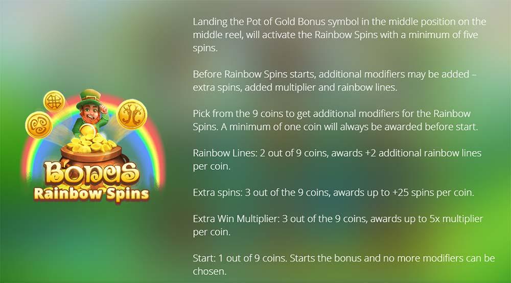 Gaelic Gold Slot - Rainbow Spins