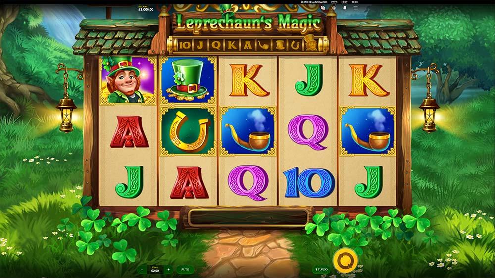 Leprechaun's Magic Slot - Base Game