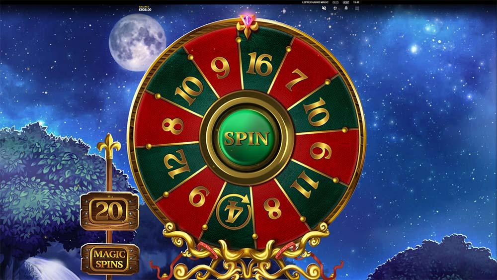 Leprechaun's Magic Slot - Free Spins Wheel