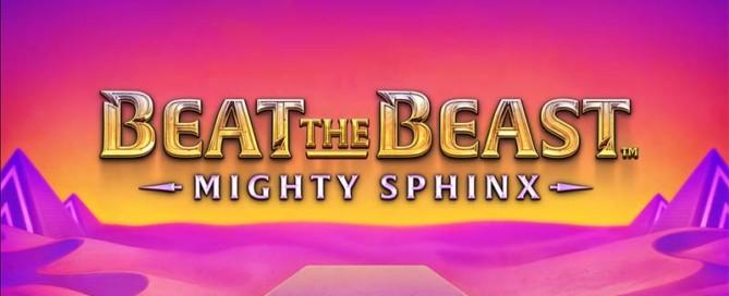 Mighty Sphinx Slot Logo