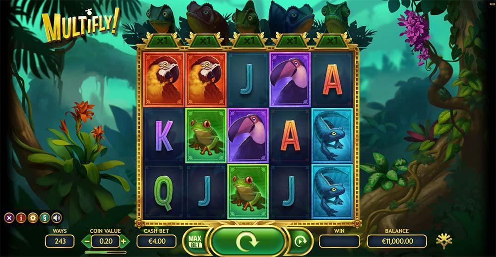 Multifly Slot - Base Game