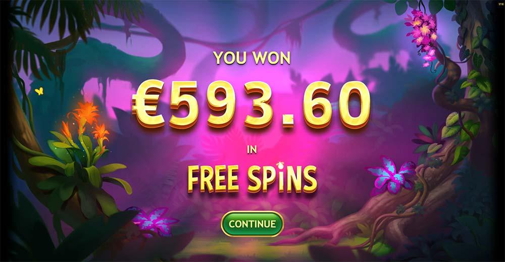 Multifly Slot - Bonus End