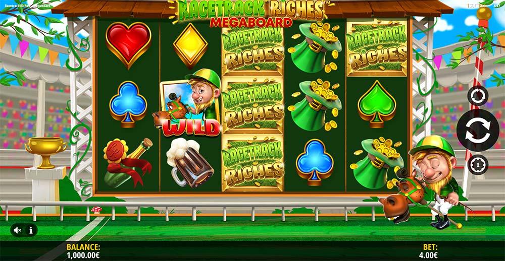 Racetrack Riches Megaboard Slot - Base Game