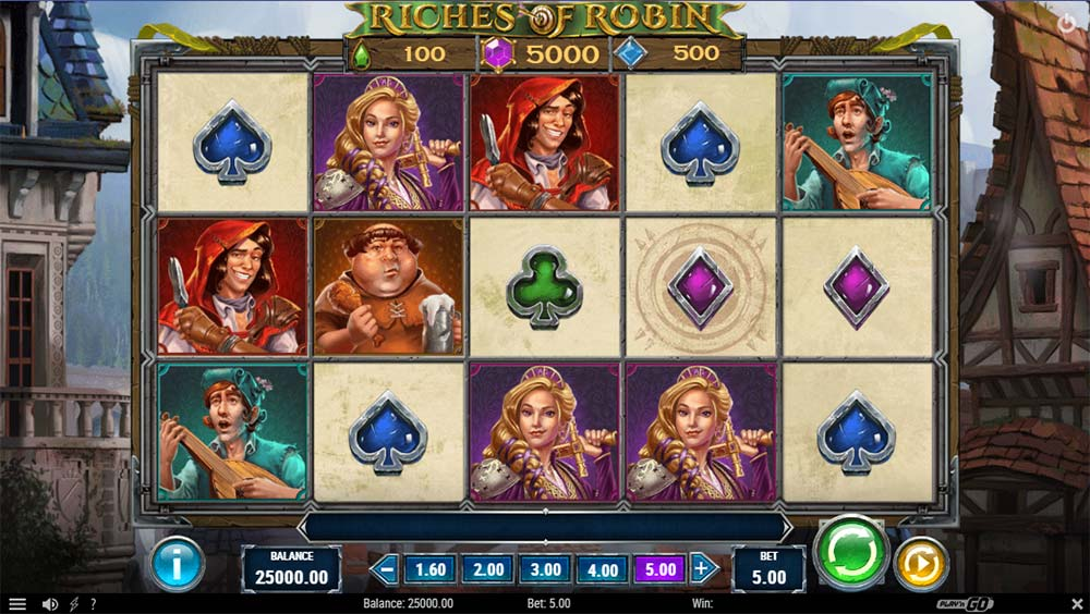 Riches of Robin Slot - Base Game