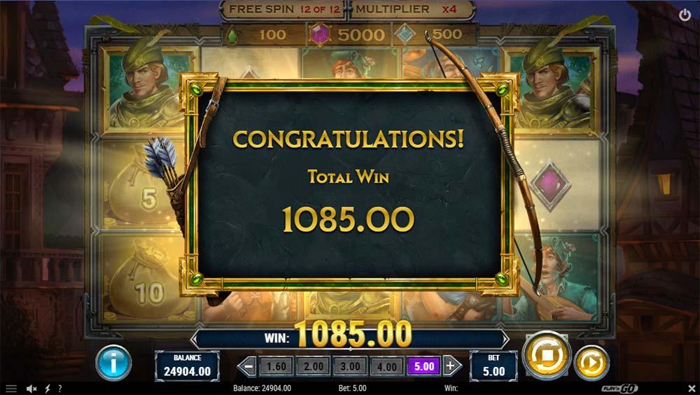 Riches of Robin Slot - Bonus End