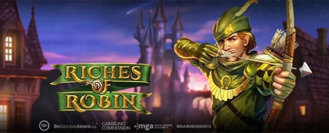 Riches of Robin Slot Logo