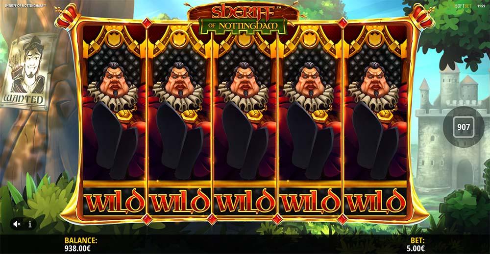 Sheriff of Nottingham Slot - Sheriff Wilds