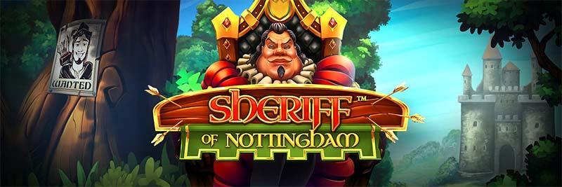Sheriff of Nottingham Slot Logo