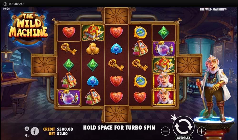 The Wild Machine Slot - Base Game