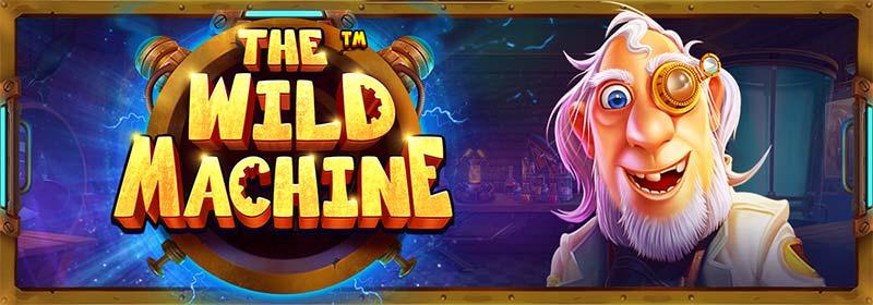 The Wild Machine Slot Logo