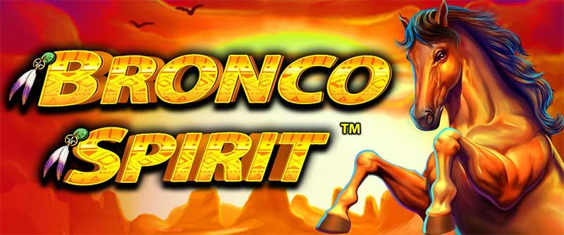 Bronco Spirit Slot Logo