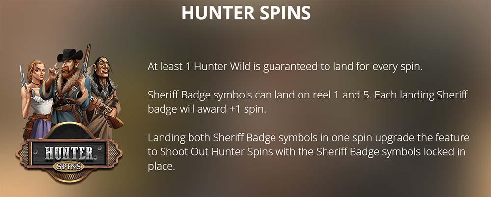 Deadwood Slot - Hunter Spins