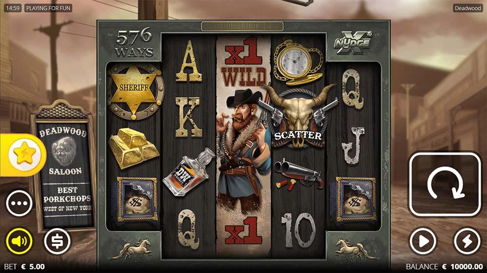 Deadwood Slot - Base Game