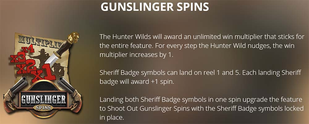 Deadwood Slot - Gunslinger Free Spins