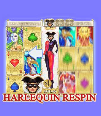 Harlequin Carnival Slot Harlequin Respins