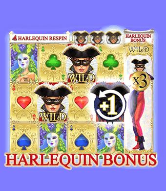 Harlequin Carnival Slot Harlequin Bonus