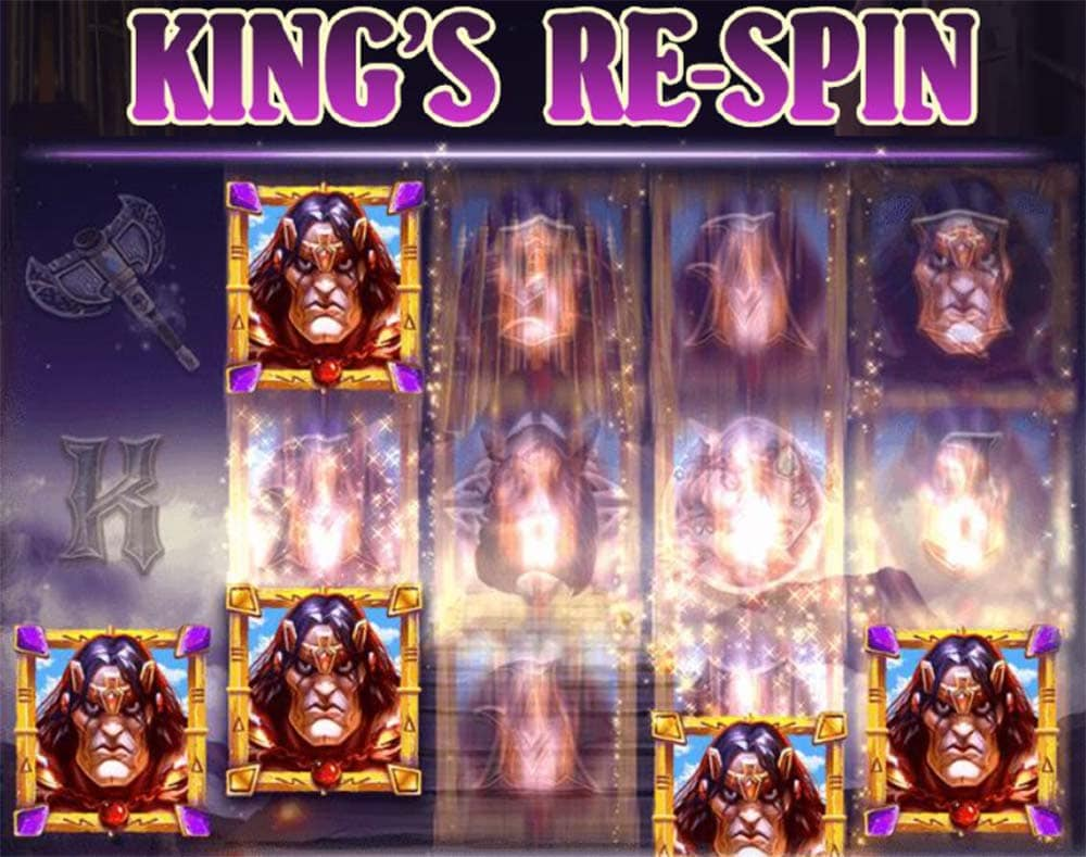 Rise of the Mountain King Slot - Kings Re-Spins