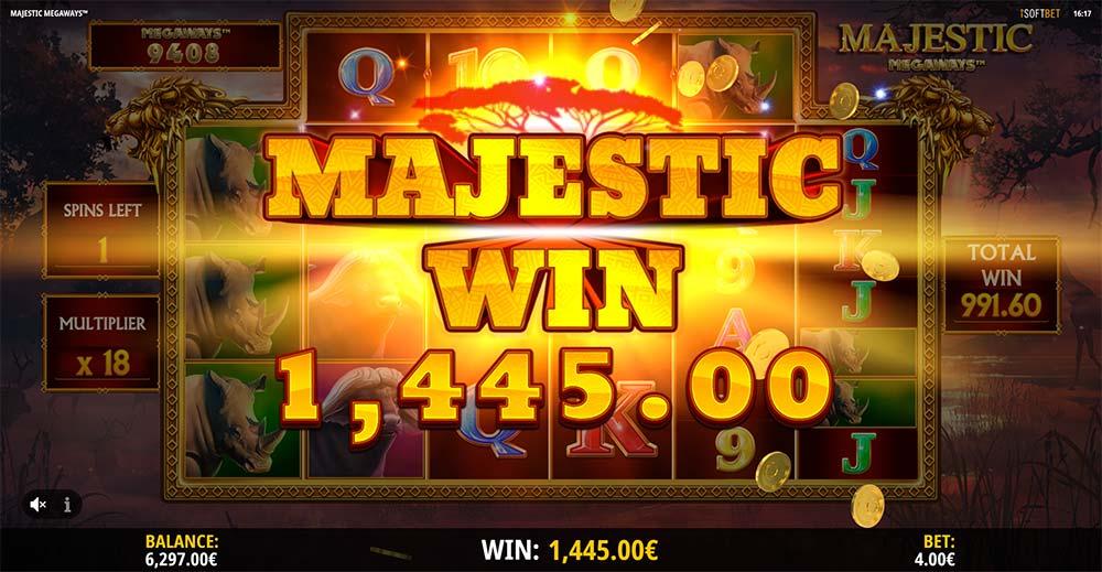 Majestic Megaways Slot - Majestic Win