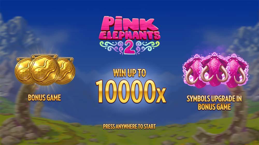 Pink Elephants 2 Slot - Intro Screen